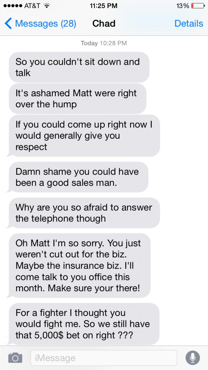 I got into a confrontation with a sociopath | Manwhore forum